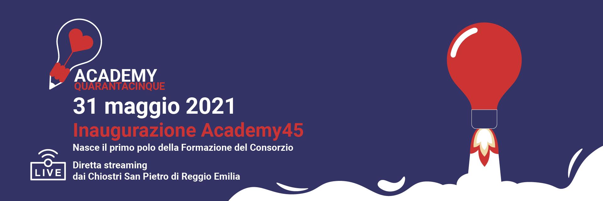 inaugurazione Academy Quarantacinque